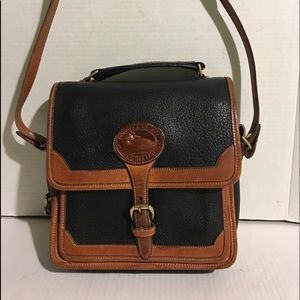 Dooney & Bourke Black Vintage crossbody handbag